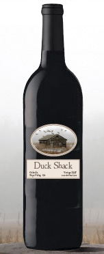 Duck Shack Wine Bottle Photograph 2007