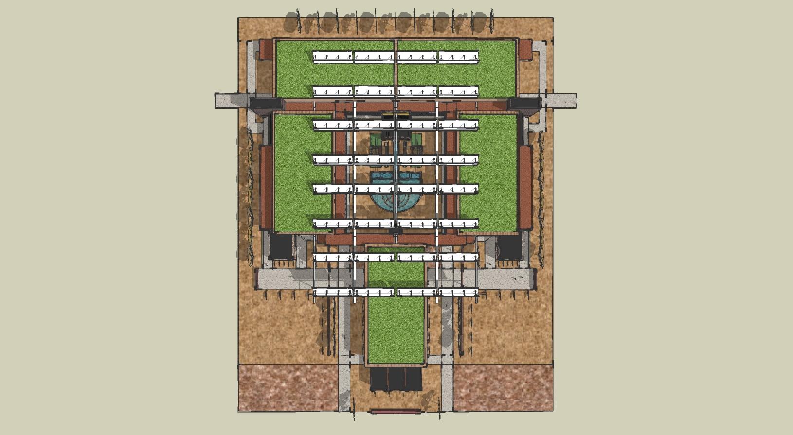 Roof Plan - Birdseye