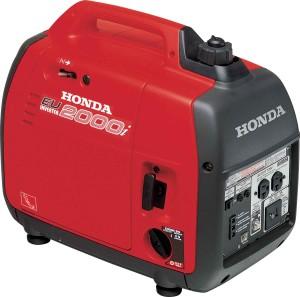Small easy to carry 2000 watt generator