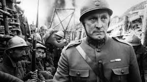 Forget Lawrence of Arabia. Stanley Kubrick made an absolutely superb movie called Paths for Glory on this disturbing subject in the 60's. Rent it if you can.