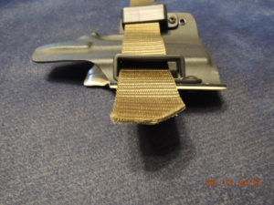 see how easily the belt flows through the loops