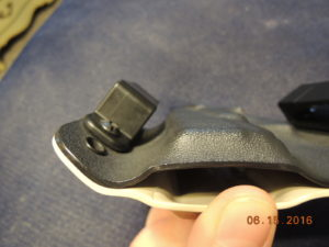 Here is a much better loop to pistol mold image