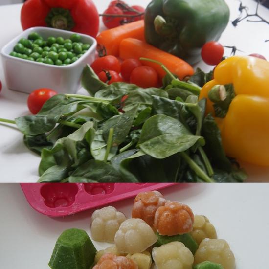 homemade vegetable baby food purees1