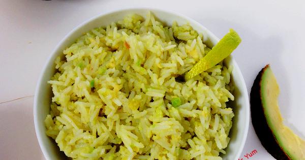 Avocado Rice and Ugu Yoghurt Ice Lollies