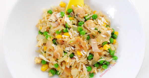 Flaked Fish and Rice
