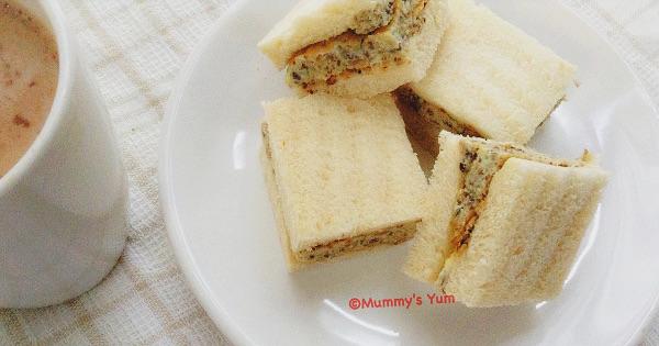 Sardine-in-Egg Sandwich