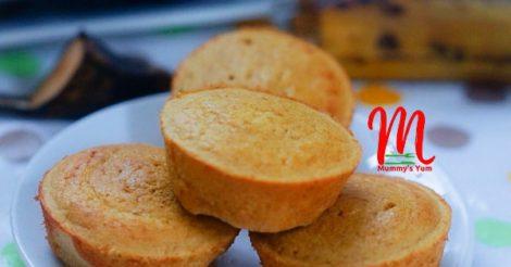 ripe plantain muffins