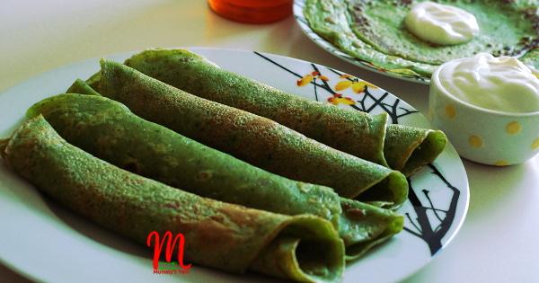 Green Veggies Pancake