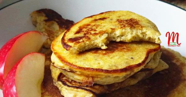 plantain and beans pancake