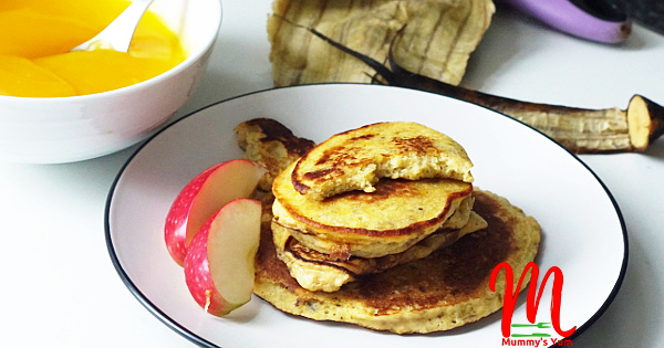 plantain and beans pancake