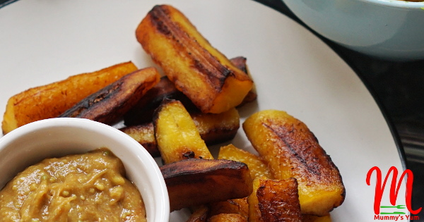 Deliciously fragrant fried plantain fingers