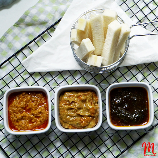 Dip recipes for finger foods