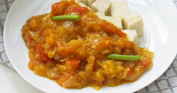 Simple Mango Sauce