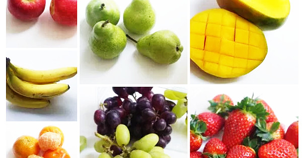 fruits and vegetables for the lunchbox