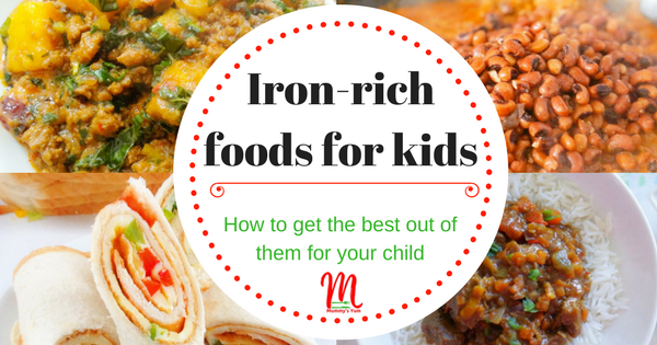 Iron-rich foods for kids