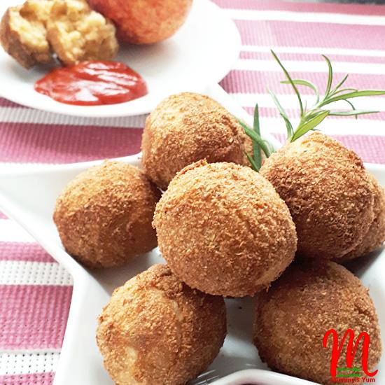 Nigerian Yam Balls