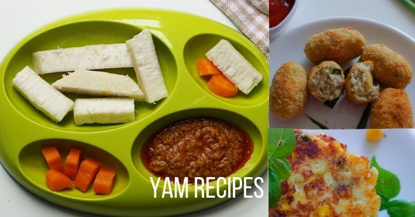 yam recipes