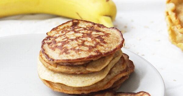 Baby's oats pancake