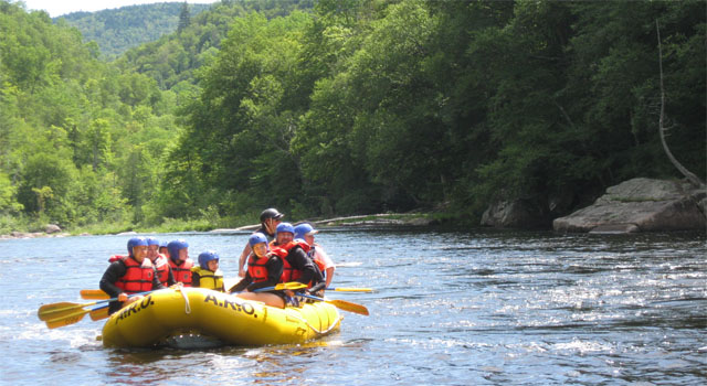 Whitewater Rafting Video