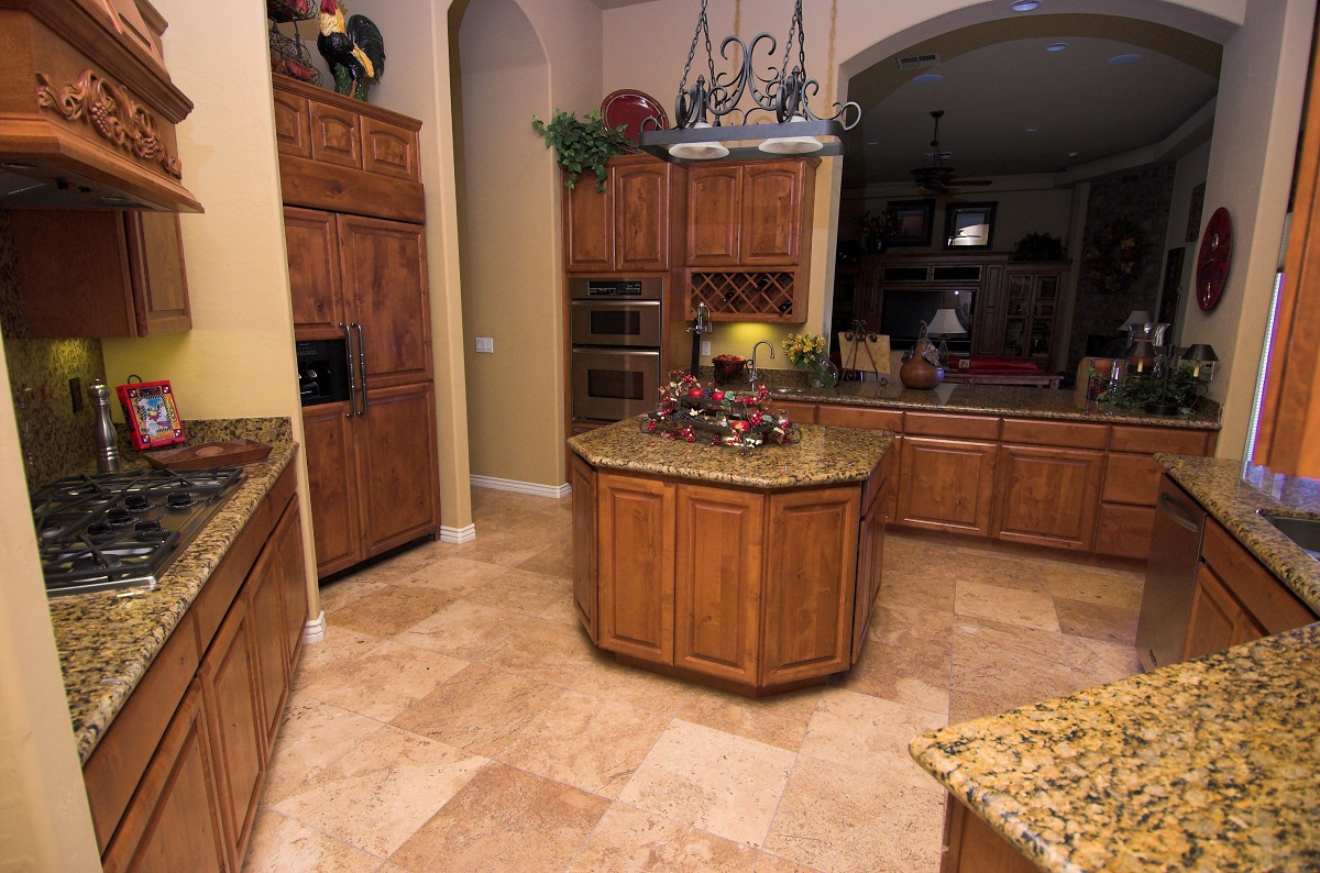 custom traditional kitchen