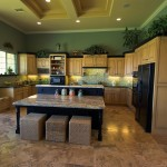 Traditional kitchen customized for entertaining