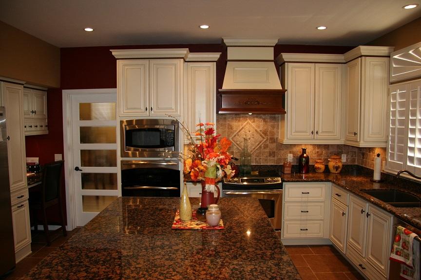 custom Oakcraft cabinetry