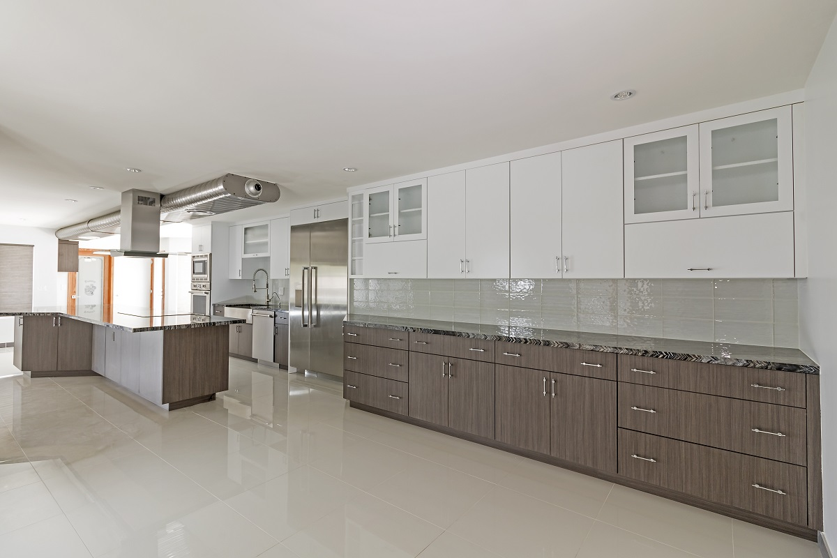 Tempe Custom Contemporary Remodel kitchen storage