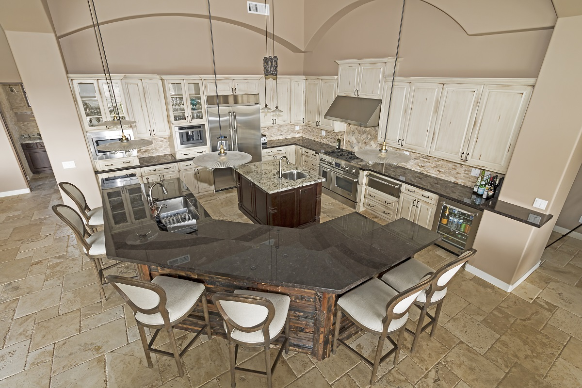 Gold Canyon Mountain Retreat Rustic Contemporary kitchen
