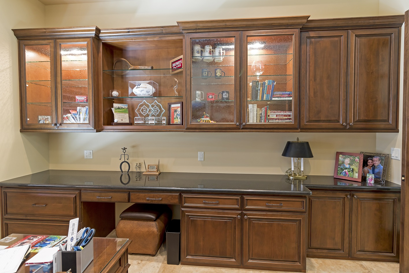 Phoenix Blackstone Custom Transitional office cabinets