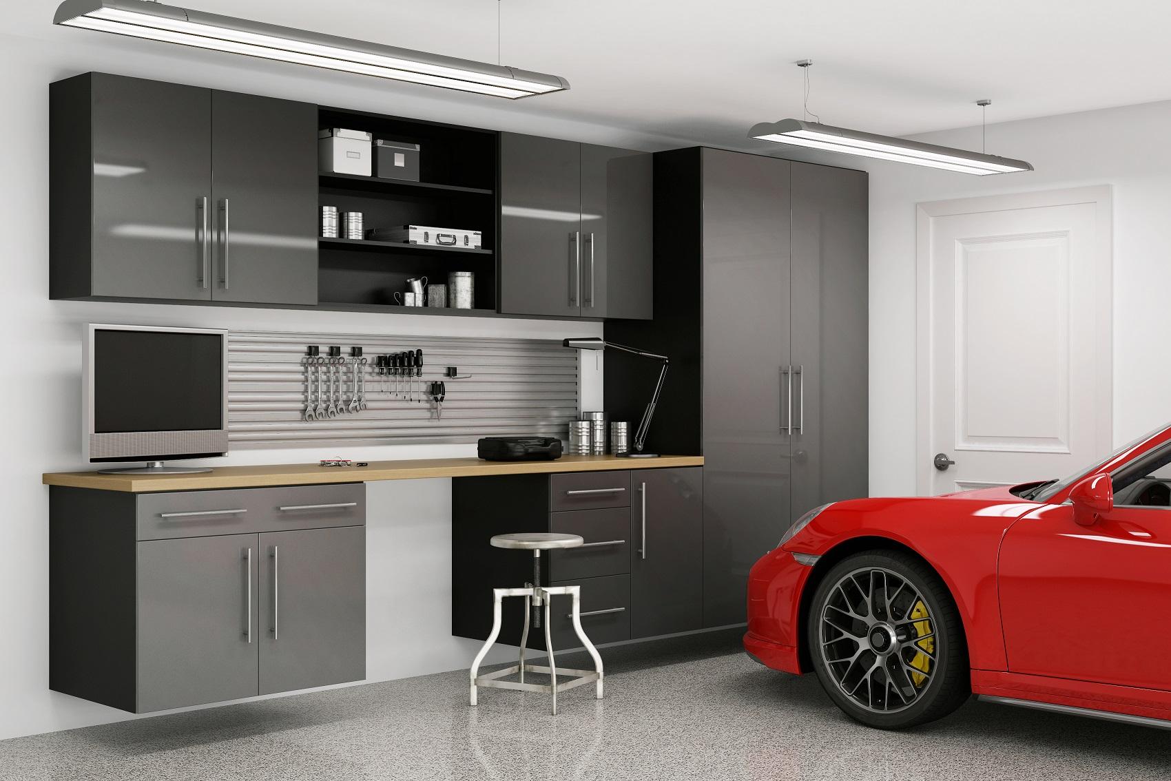 Oakcraft garage cabinetry