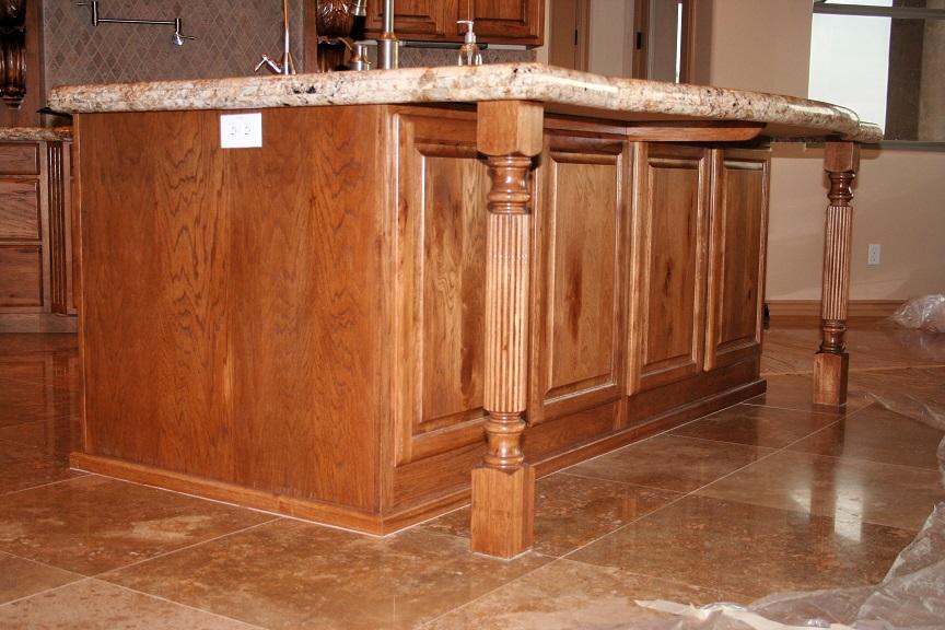 Osborn kitchen island cabinets
