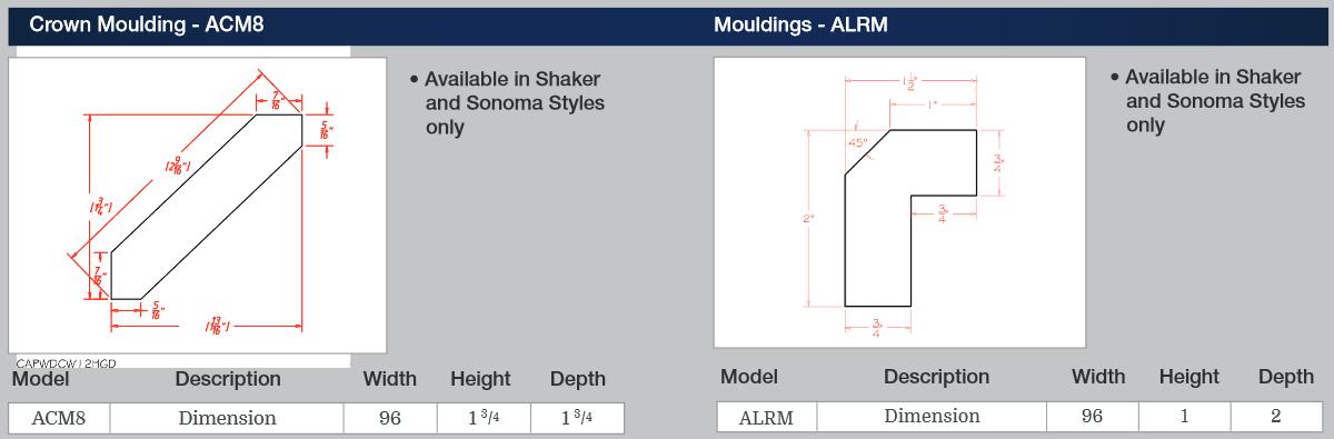 Crown Moulding - ACM8