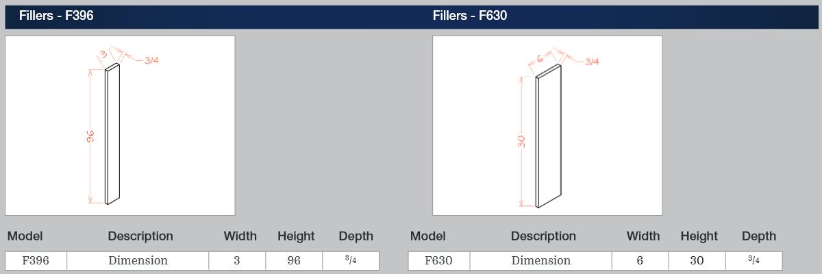 Fillers - F396
