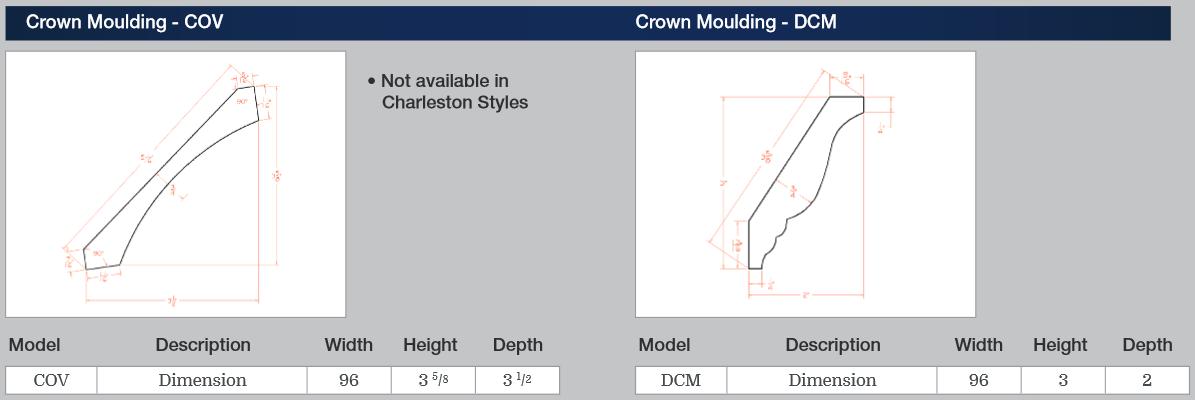 Crown Moulding - COV