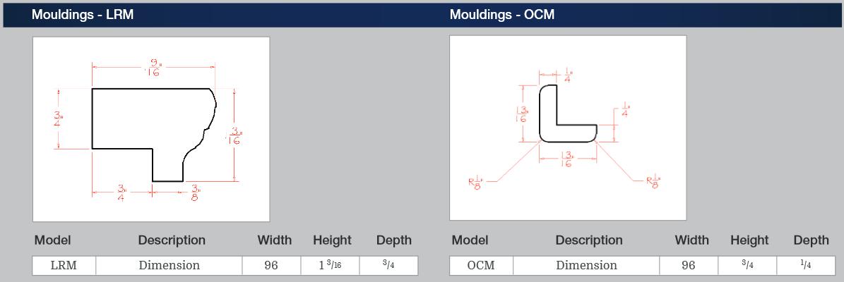 Mouldings - LRM