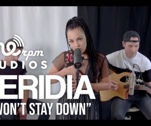 Video: VERIDIA acoustically perform I Won't Stay Down at ONErpm Studios