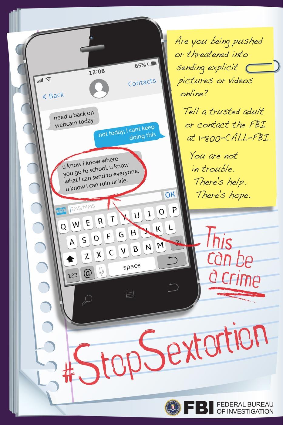 FBI Sextortion