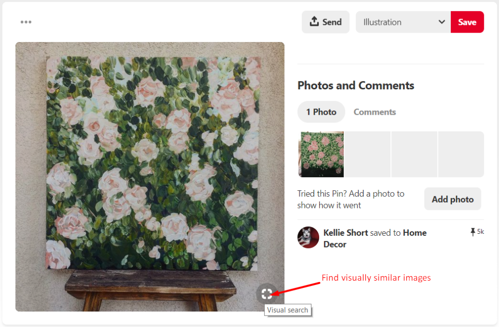 How Pinterest does search of photos