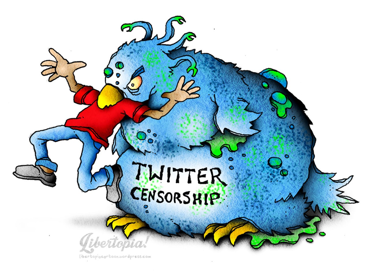 Censorship in Twitter