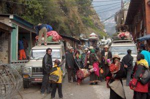 Tibetan refugees