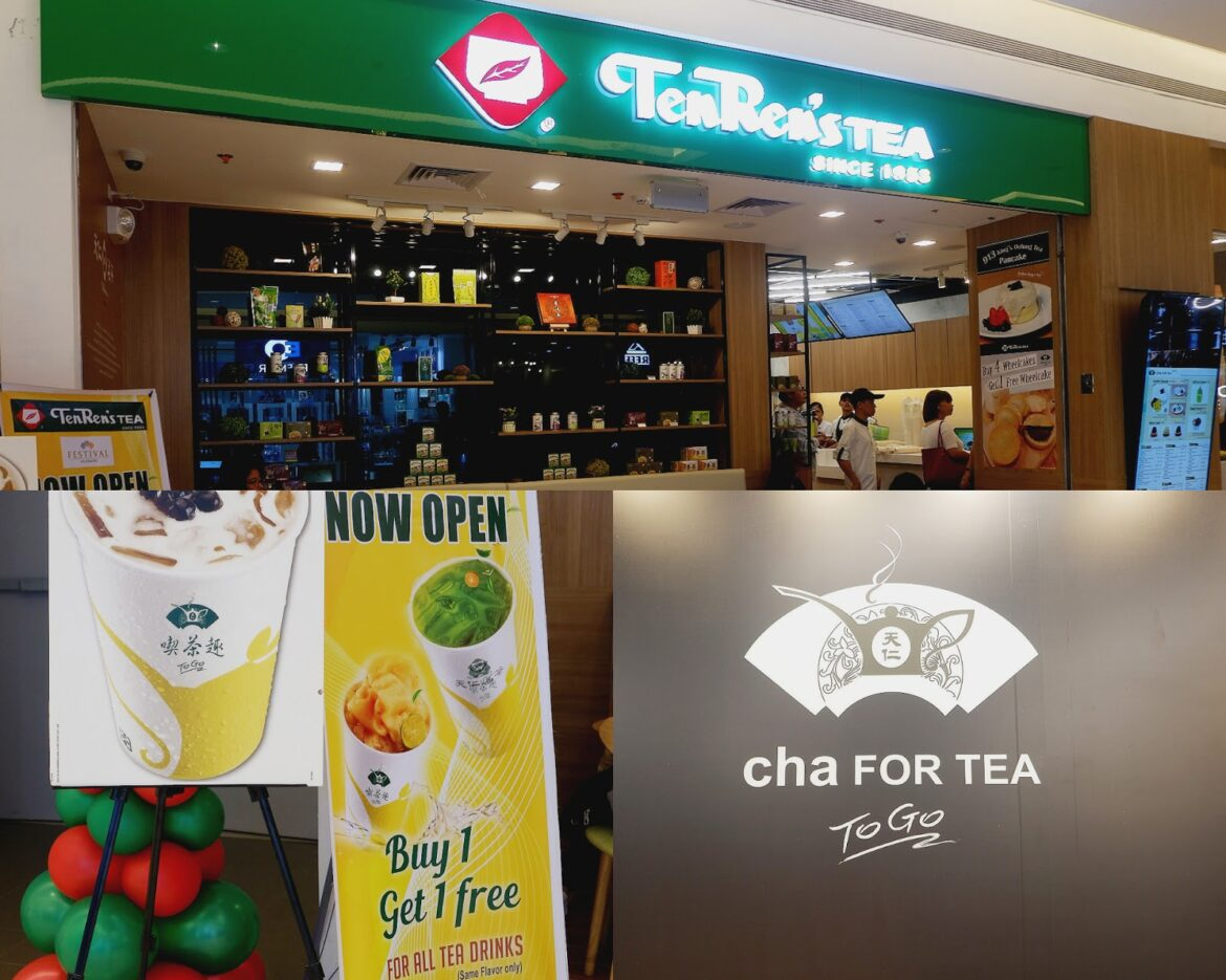 Ten Ren's Tea Opened their 3rd Branch in the Philippines