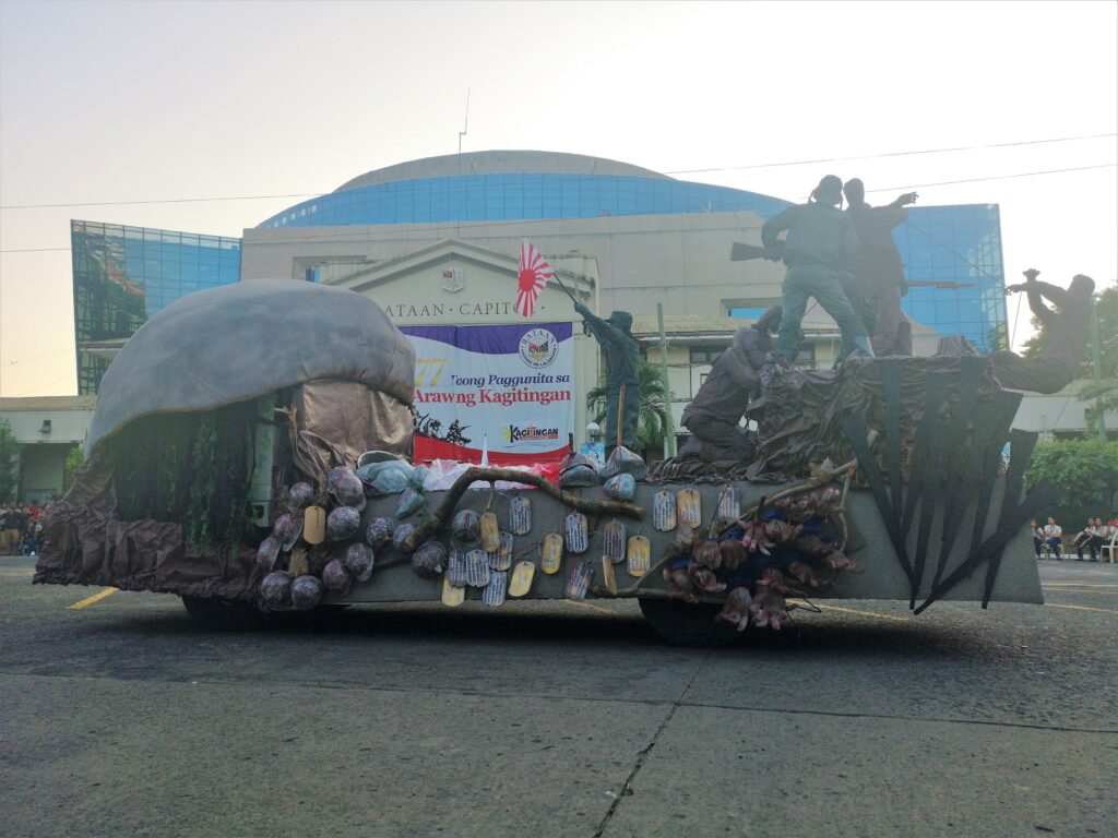 town of samal parade winner