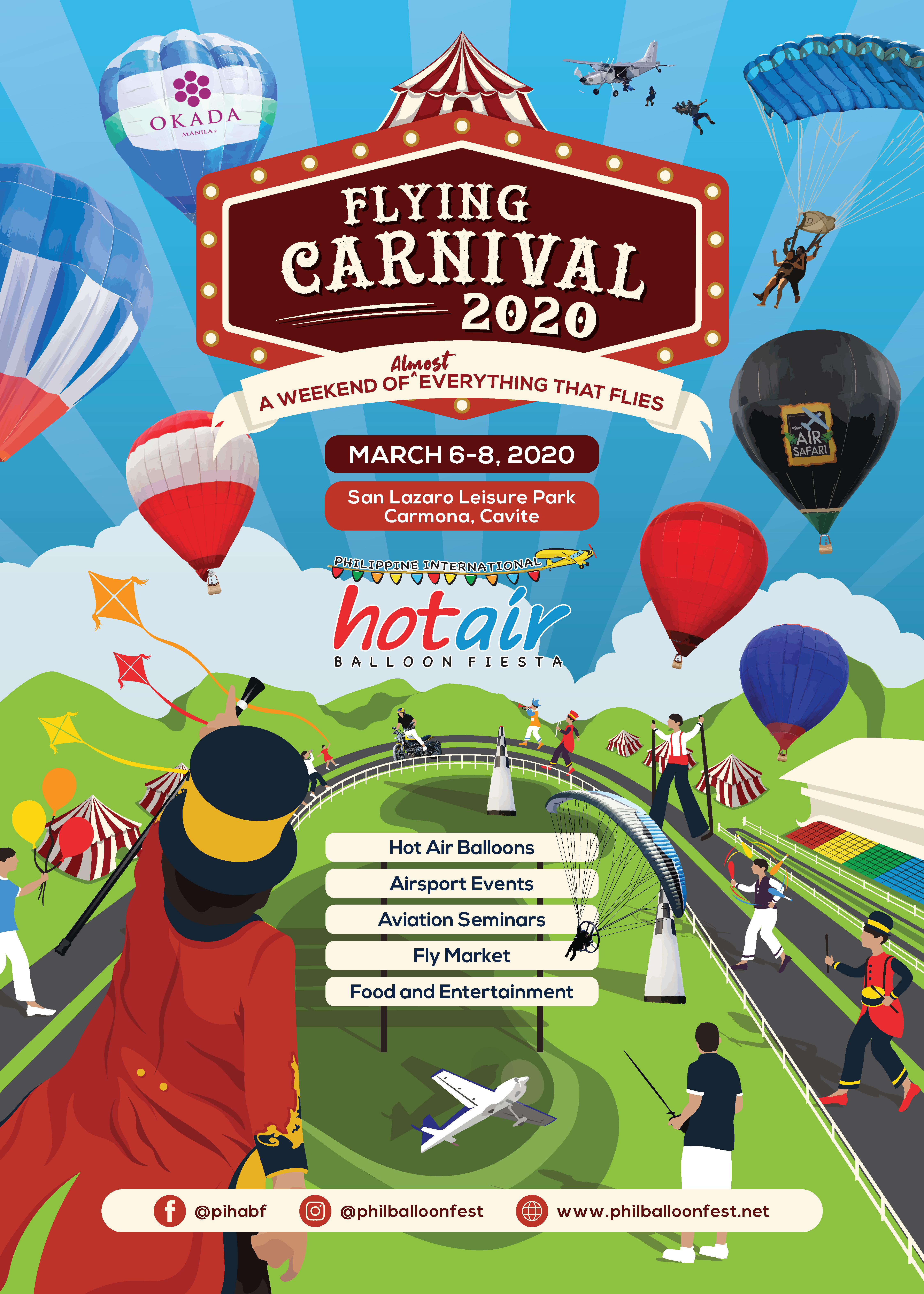 Philippine Hot Air Balloon: The Flying Carnival 2020