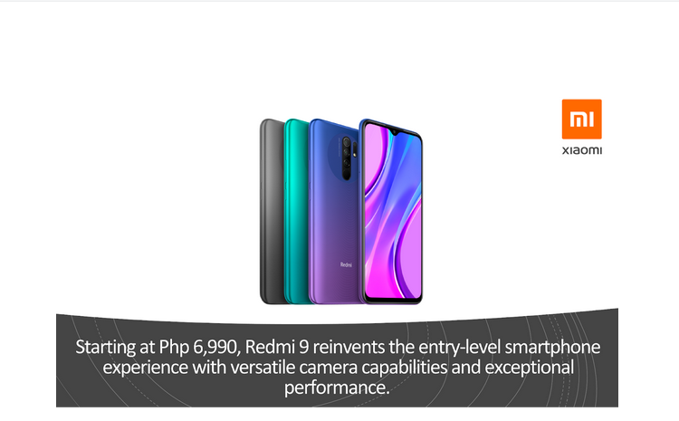 Redmi 9 at 6,990 Pesos now available in the Philippines