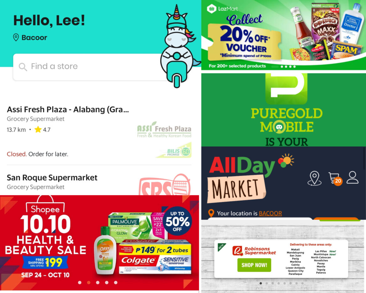 Online Grocery Store Available in the Philippines
