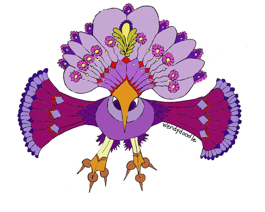 Cockadoodle fantasy bird
