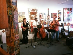 <h5>Christy Fisher and the Cattywampus band! Fantastic!!</h5>
