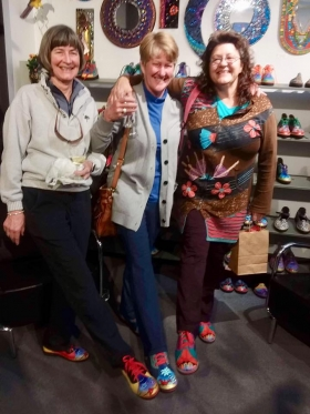 <p>These good friends all bought Cody and Mark Carter Kool Shoos! </p>