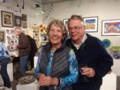 <p>Always good to see Tom and Pam Catlin at our receptions! </p>