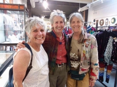 <h5>Mary Kaye O'Neill with wonderful friends.</h5>